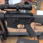 Colt CAR A3 HBAR Elite on P3 Ultimate Gun Vise