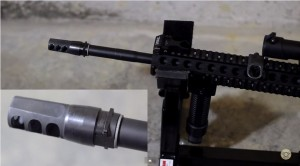 Muzzle Brake Install with P3 Ultimate Gun Vise