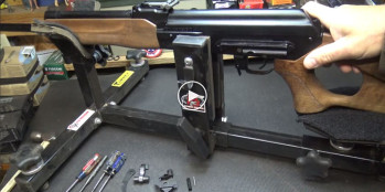 AK Trigger Installation with P3 Ultimate Gun Vise