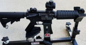Windham AR-15 in P3 Ultimate Gun Vise