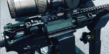 Vortex Scope Mount with CTK Precision Gun Vise